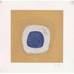 Sônia Ebling<br>Composição – 70 x 70cm – Gravura <br>Ass. CID – Sem Moldura