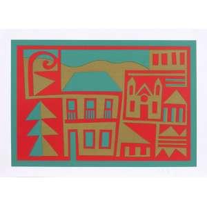 Jorge dos Anjos<br>Símbolo de Minas – 48x 66,5 cm <br>Gravura – Ass. CID – Sem Moldura<br>