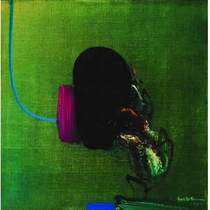 Manabu Mabe<br>Abstração - 51 x 51 cm - AST - Ass. CID e Dat. 1980<br>Acompanha certificado de autenticidade emitido pelo Instituto Manabu Mabe