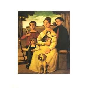 Reynaldo Fonseca - Família - 47 x 66 cm – Gravura – Ass. CID – Sem Moldura