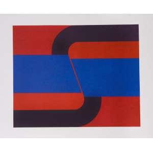 Rubens Ianelli - Composição – 66 x 47 cm – Gravura – Ass. CID e Dat. 2010 – Sem Moldura