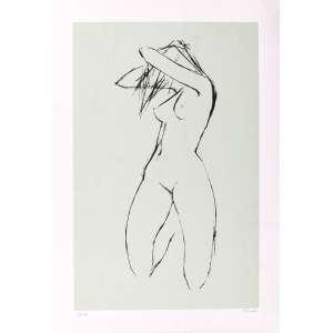Enrico Bianco - Nu – 72 x 50 cm – Gravura – Ass. CIE – Sem Moldura