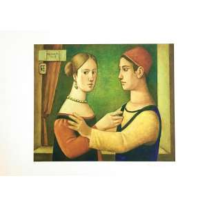 Reynaldo Fonseca - Figuras - 47 x 66 cm – Gravura – Ass. CID – Sem Moldura