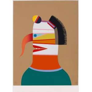Roberto Magalhães - Figura – 70 x 50 cm – Gravura – Ass. CID e Dat. 1992 – Sem Moldura