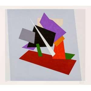Eduardo Sued - Composição – 70 x 80 cm – Gravura - Ass. CID e Dat. 2014 – Sem Moldura