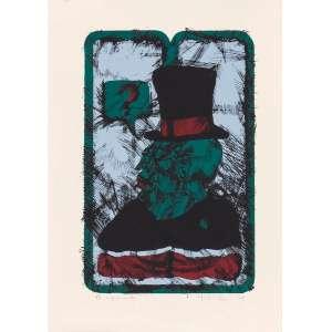 Mário Zavagli - Monumento – 45,5 x 31,5 cm – Litografia – Ass. CID e Dat. 1978 – Sem Moldura