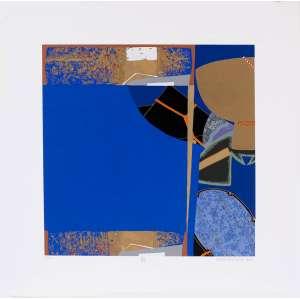 Wakabayashi - Composição – 60 x 60 cm – Gravura – Ass. CID e Dat. 2010 – Sem Moldura