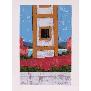 José Paulo Moreira da Fonseca - Farol – 66 x 48 cm – Gravura – Ass. CID – Sem Moldura