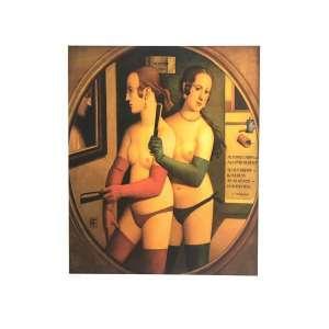 Reynaldo Fonseca - Sensualidade - 47 x 66 cm – Gravura – Ass. CID – Sem Moldura