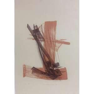 Maria Helena Andrés - Abstração - 70 x 48 cm - Litografia 1/20 - Ass. PI e Dat. 1992 – Sem Moldura