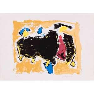 Lúcia Marques - Composição – 48 x 66 cm – Gravura– Ass. CID – Sem Moldura