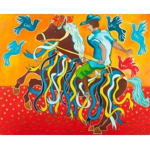 LUIZ CHAVES - Príncipe – 80 x 100 cm – OST - Ass. CID e Dat. 2009