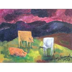 WILDE LACERDA - Bois – 24 x 31 cm – OST - Ass. CID e Dat. 1973