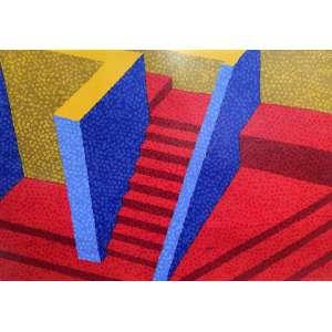 CLAUDIO TOZZI - Escada – 50 x 70 cm – Gravura – Ass. CID