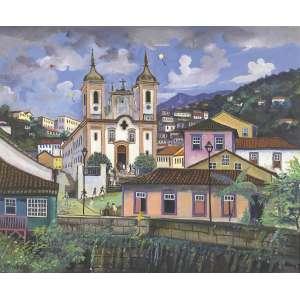ESTEVÃO - Ouro Preto/MG – 60 x 73 cm - OSTCM – Ass. CIE