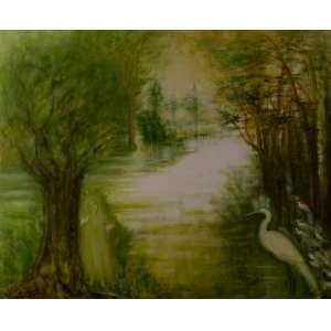 SOLANGE BOTELHO - Paisagem – 100 x 120 cm - OST – Ass. CIE - Dat. 2008