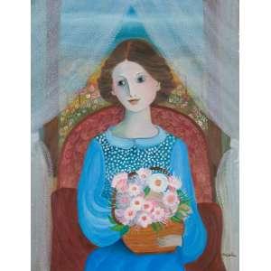 SANTA - Princesa na Janela – 90 x 70 cm – OST – Ass. CID e Dat. 2010
