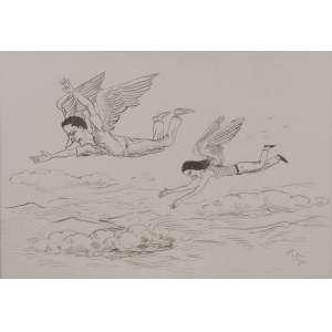ROBERTO MAGALHÃES - Sonho – 35 x 50 cm – Guache – Ass. CID e Dat. 2002
