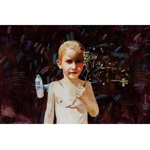 SÉRGIO NUNES - Anotações - Mercúrio Menino - 51 x 76 cm - Aquarela - Ass. PI e Dat. 1999/2014 Reproduzida no Catálogo da Exposição Individual realizada pelo artista em 2014, texto de Olívio Tavares de Araújo.