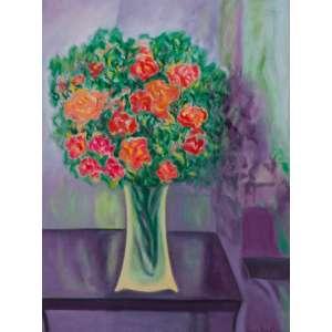 MARINA NAZARETH - Vaso de Flores – 80 x 60 cm - AST – Ass. CID e Dat. 2005
