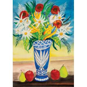 HOLMES NEVES - Vaso de Flores – 70 x 50 cm – OST - Ass. CIE