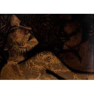 FARNESE DE ANDRADE - Mulheres – 50 x 70 cm – ANESC – Ass. CID e Dat. 1968