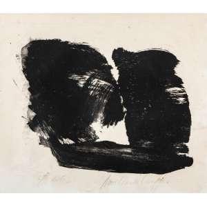 AMILCAR DE CASTRO - Composição – 30 x 35 cm – Litografia Ass. CID e Dat. 1994