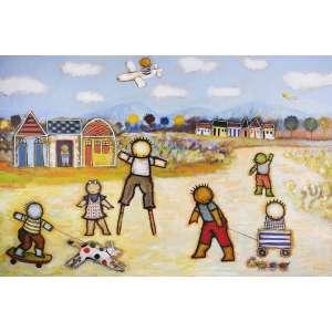 RICARDO FERRARI - Em Um Dia Qualquer - 100 x 150 cm – OST - Ass. CID e Dat. 2010
