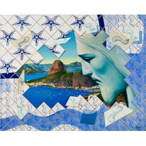 PEDRO GUEDES - Rio – 80 x 100 cm – OST – Ass. CID e Dat. 2012