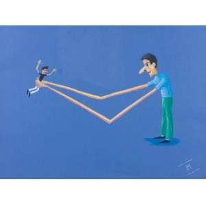 ROBERTO MAGALHÃES - Delírios Milaneses – 48 x 63 cm – Pastel Ass. CID e Dat. 2002 – Situado Milão