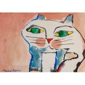 ALDEMIR MARTINS - Gato – 30 x 42 cm – ASC – Ass. PI