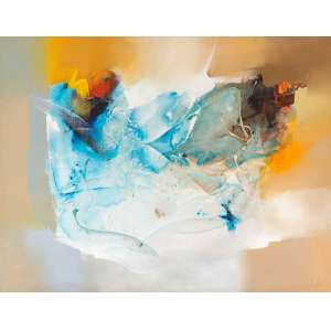 CONILLO - Abstração – 100 x 130 cm – OST – Ass. CID e Dat. 2002