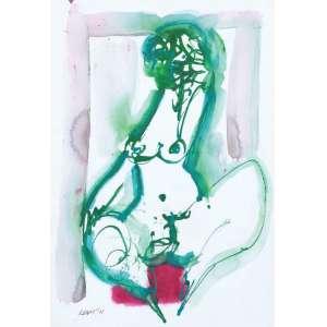RAPOPORT - Nu – 50 x 35 cm – AASC - Ass. CIE e Dat. 2005