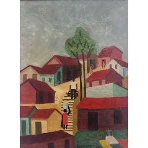 LORENZATO - Paisagem com Árvores - 61 x 46 cm - OSE - Ass. PI e Dat. 1983
