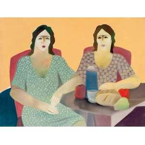 OLIVER - Café da Manhã – 60 x 80 cm – OST – Ass. Verso