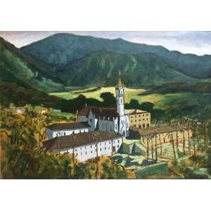 MÁRCIO SCHIAZ - Caraça - 50 x 70 cm – OST – Ass. CIE e Dat. 2005