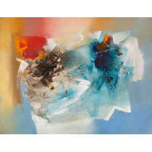 CONILLO - Abstração – 100 x 130 cm - OST – Ass. Verso e Dat. 2002