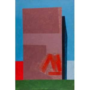 CHRISTINA PARISI - Composição – 90 x 60 cm - Têmpera Vinílica - Ass. CIE e Dat. 1983