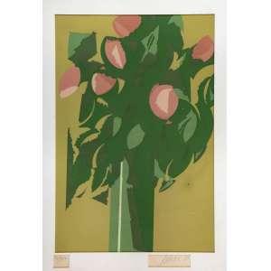 CARLOS SCLIAR - Vaso de Flores – 60 x 45 cm - Serigrafia – Ass. PI