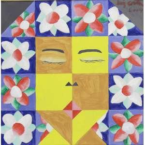 LUIZ COSTA - Nossa Senhora – 45 x 45 cm - OST - Ass. CSD e Dat. 2004