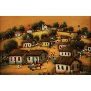 ALARCÃO - Vila – 40 x 60 cm – OSE – Ass. CID