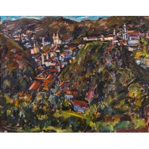 Sergio Telles - Ouro Preto – 80 x 100 cm – OST – Ass. CID e Dat. 1994