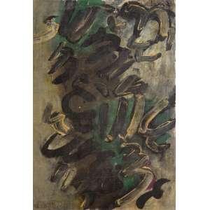 Frans Krajcberg - Sem Título – 41 x 28,5 cm – OST – Ass. CIE – Década de 1960 Será registrada no Catálogo Raisonné a ser editado sobre o artista. Reproduzido no catálogo do leilão da Soraia Cals de março de 2018