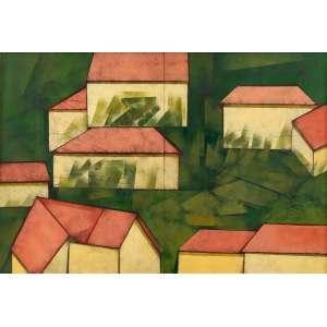 Carlos Scliar - Paisagem XXV e Paisagem XXVI(Díptico)– 75 x 110 cm – VCEST - Ass. CIE e Dat. 1986
