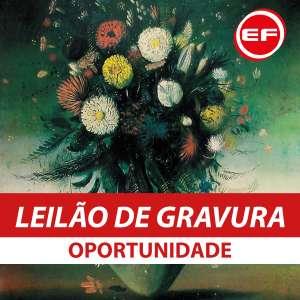 Errol Flynn Galeria de Arte - Leilão de Gravuras - Oportunidades
