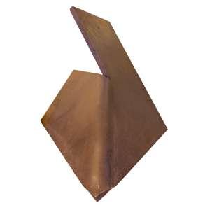 Amilcar de Castro - Escultura de Corte e Dobra - 80 x 80 x 80 x 2,5 cm - Aço - Ass. Base