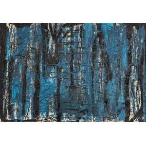 """Celso Renato - Sem Título - 80 x 116 cm - OST - N/A - Reproduzida no catálogo da exposição comemorativa de aniversário """"Celso Renato 100 Anos"""" realizada no Palácio das Artes em 2018."""