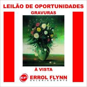 Errol Flynn Galeria de Arte - Leilão de Oportunidades
