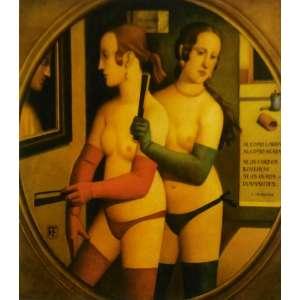 Reynaldo Fonseca - Sensualidade - 47 x 66 cm - Gravura - Ass. CID - Sem Moldura
