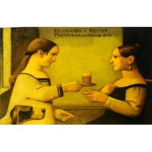 Reynaldo Fonseca - Primavera do ano de 2005 – 47 x 67 cm - Gravura Ass. CID - Sem Moldura